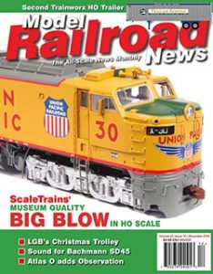 Model Railroad News December 2016