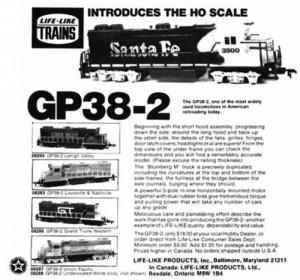 Life-Like GP38-2