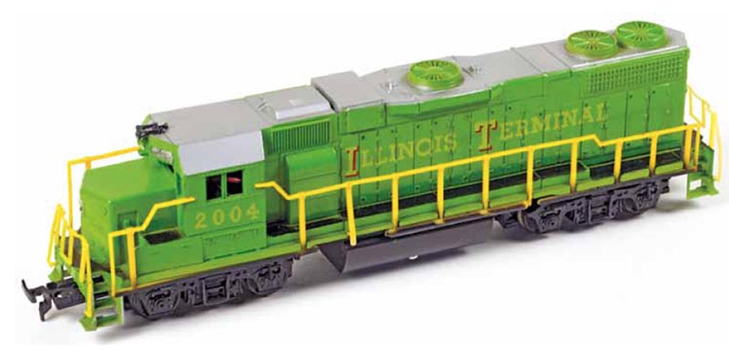 The First GP38-2 in HO