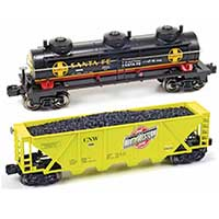 Menards adds freight cars to O-gauge line