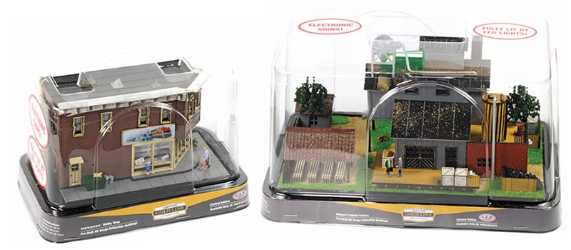 Menards Ready-Built Structures in HO - Model Railroad News