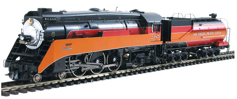 Southern Pacific 4-6-2 from Sunset Models in HO