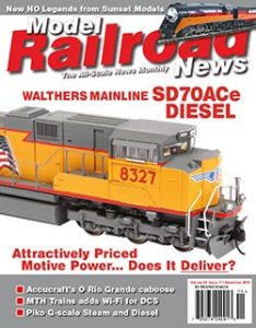Model Railroad News - November 2016