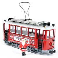 LGB Christmas Streetcar Starter Set