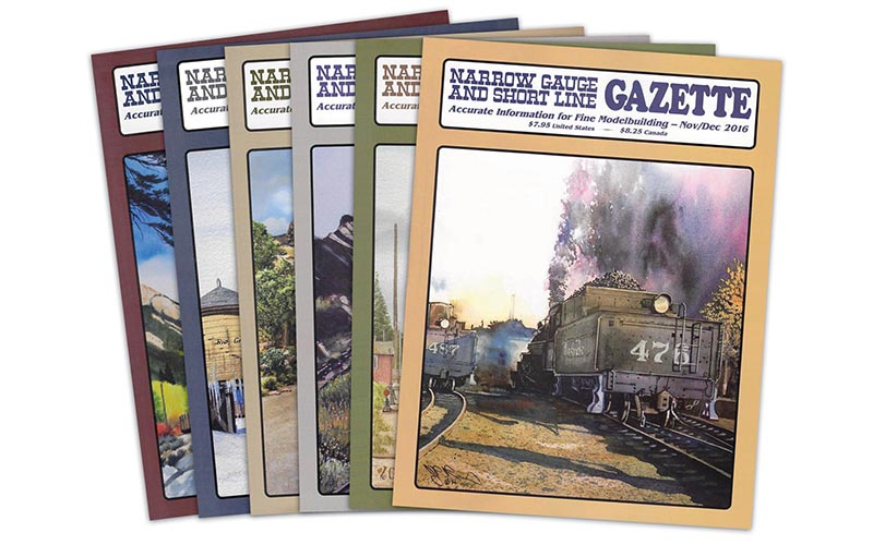 WRP purchases Narrow Gauge & Short Line Gazette