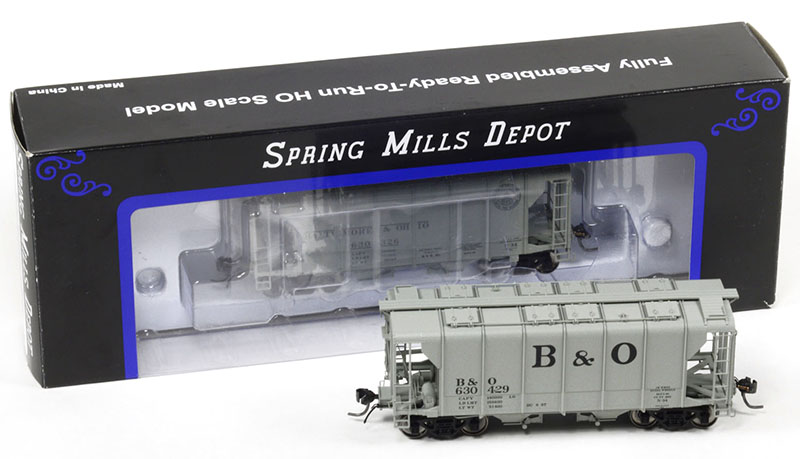 B&O N-34 Wagon Top Hopper from Spring Mills Depot