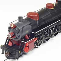 Broadway Limited's Gulf, Mobile & Ohio Light Pacific in HO Scale