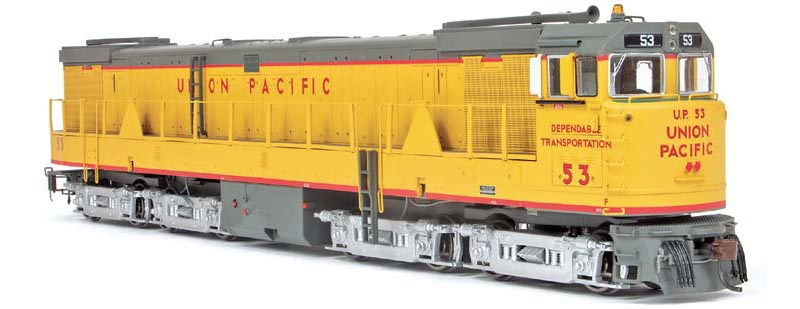 Dec. 2011: Athearn GE U50 Turbine in HO Scale