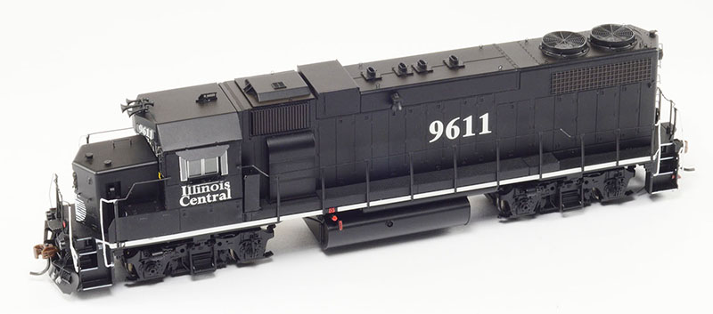 "Athearn Illinois Central ""Death Star"" GP38-2 in HO Scale"