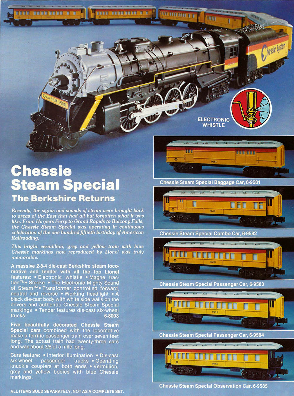 from the archives  chessie system steam models