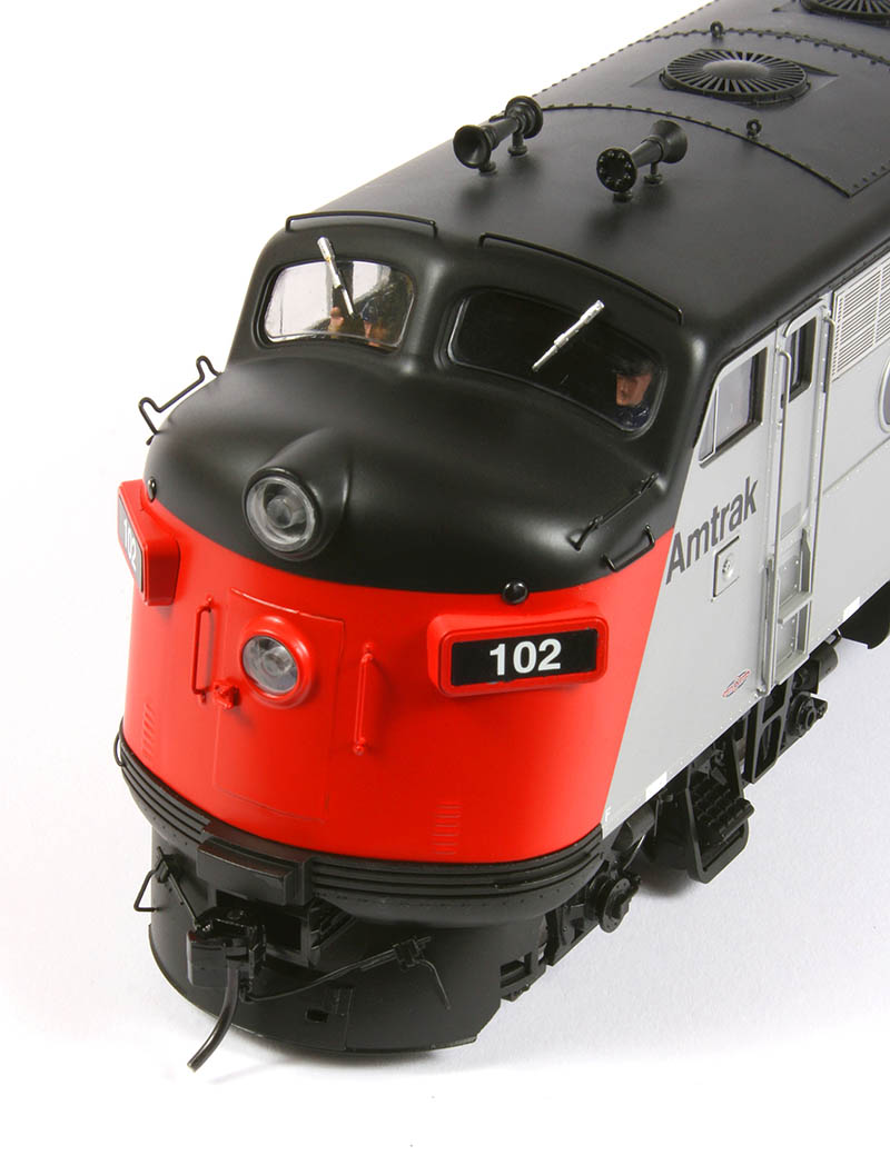 Atlas O Emd F7 Makes Its Debut Model Railroad News More Train Circuits Led Flashing Lights Models Hobby In Scale