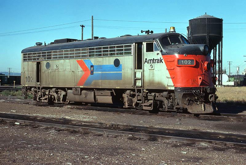 Amtrak EMD F7