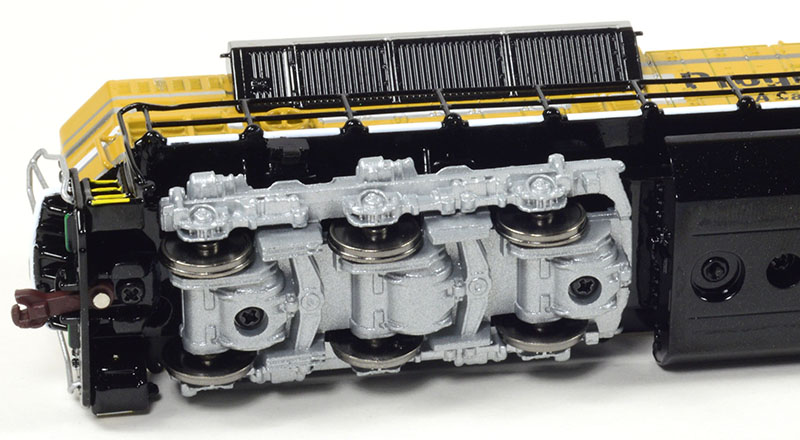 Die Cast SD70ACe by 3000TOYS in HO Scale - Model Railroad News