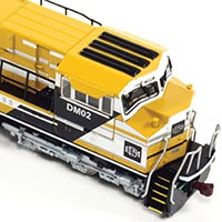 Die Cast SD70ACe by 3000TOYS in HO Scale