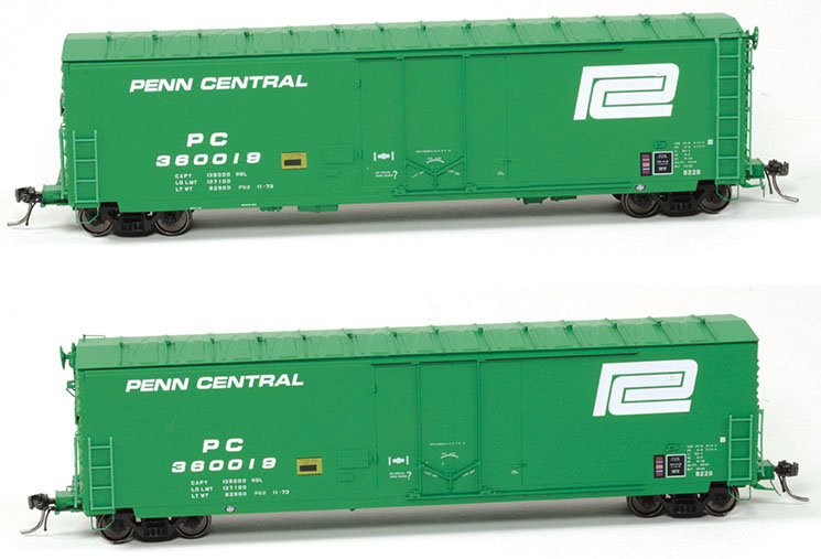 Moloco Trains Penn Central Boxcar