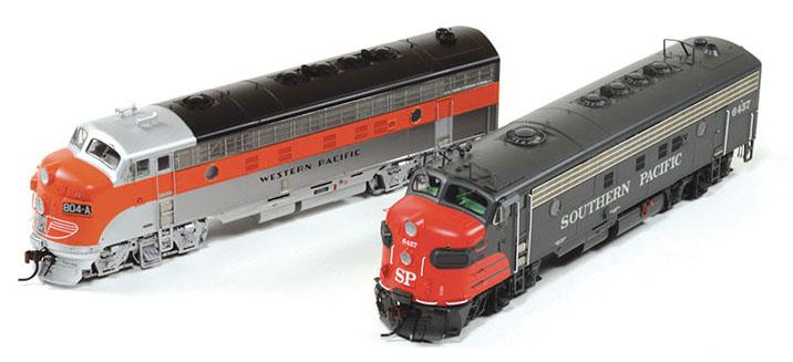 EMD FP7 Models
