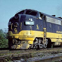 Prototype Profile and Model Survey: EMD FP7 Diesels