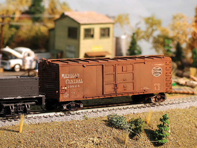 Westerfield Models Auto Boxcar Resin Kit in HO Scale