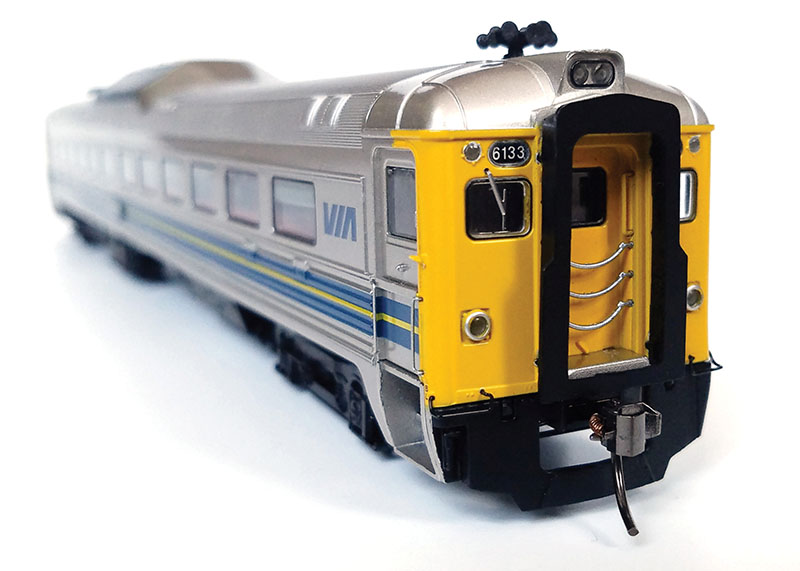 VIA Rail Canada RDC in HO Scale by Rapido Trains