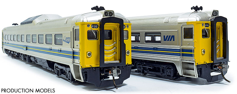 VIA Rail 6133 Models