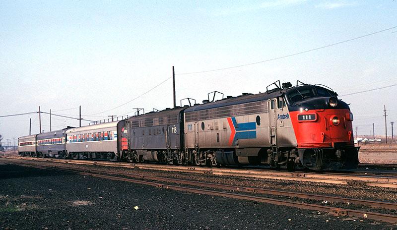 Amtrak FP7