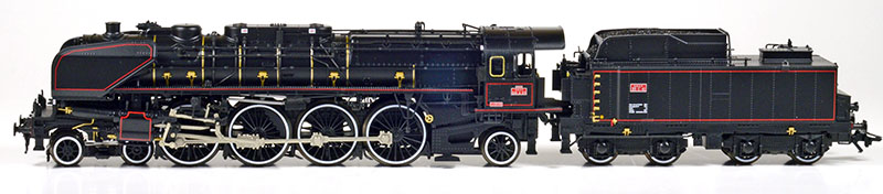 SNCF class 241-A Steam Locomotive