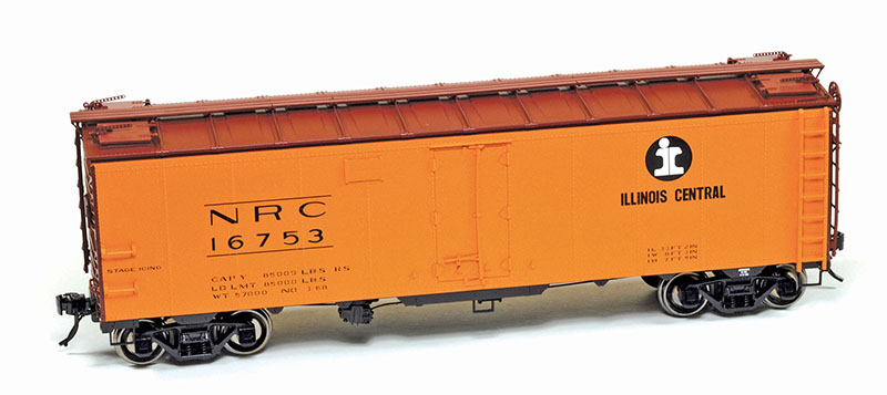 Very, Very Late Steam Era: Illinois Central Ice Reefer in O Scale from Atlas O