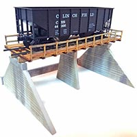 Coal Dealer Trestle in S Scale from East West Rail Services