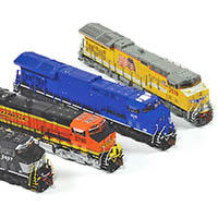 ScaleTrains ET44AC GEVO Tier 4 Diesel Locomotive in N Scale