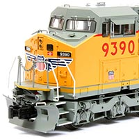 Atlas Trainman Dash 8-40CW in O Scale