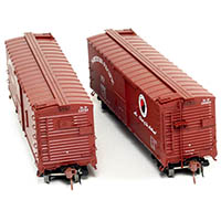 Northern Pacific 40-foot Boxcar in HO from Rapido Trains