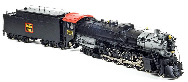 Burlintgon Class O-5 4-8-4