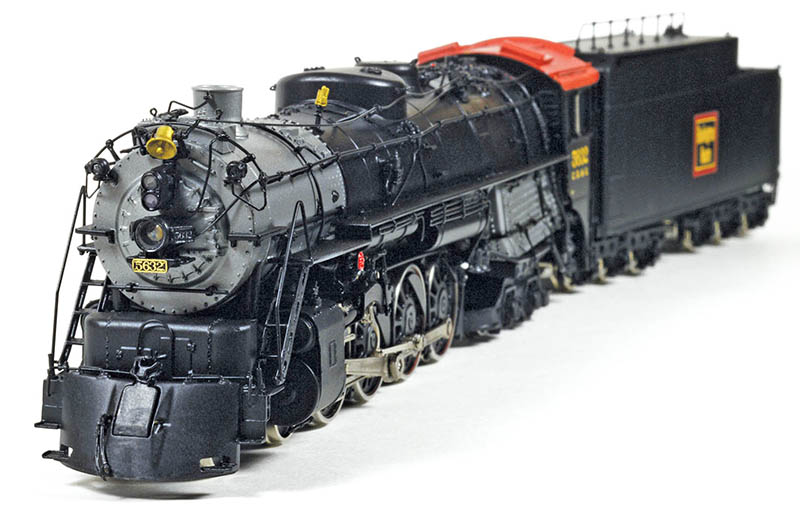Chicago, Burlington & Quincy's Class O-5 Northern from Sunset Models in HO