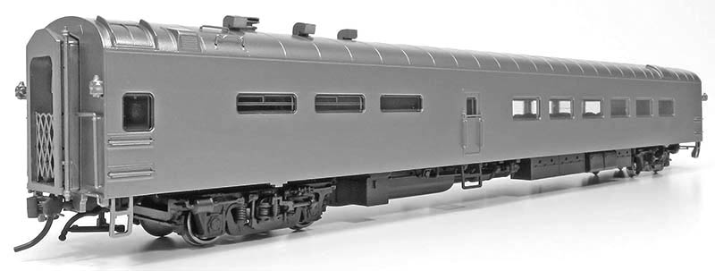 First Look: Pullman-Standard dining car from Rapido Trains in HO Scale