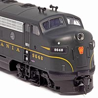 Single-Stripe Pennsylvania Railroad F7A by Walthers in HO Scale