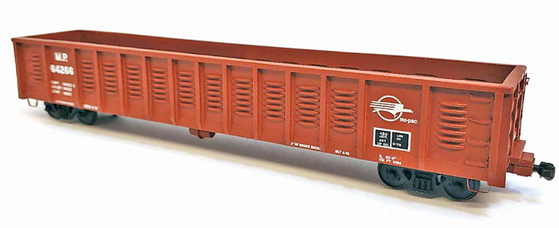 Greenville Gondola from Pre-Size Model Specialties in S Scale
