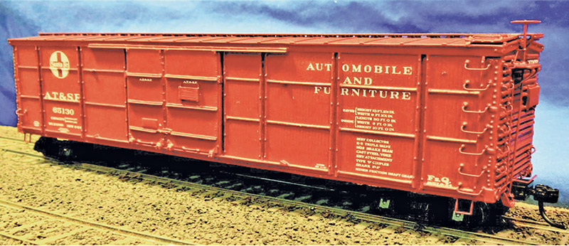 Early Santa Fe Automobile Boxcar Kits from Westerfield Models
