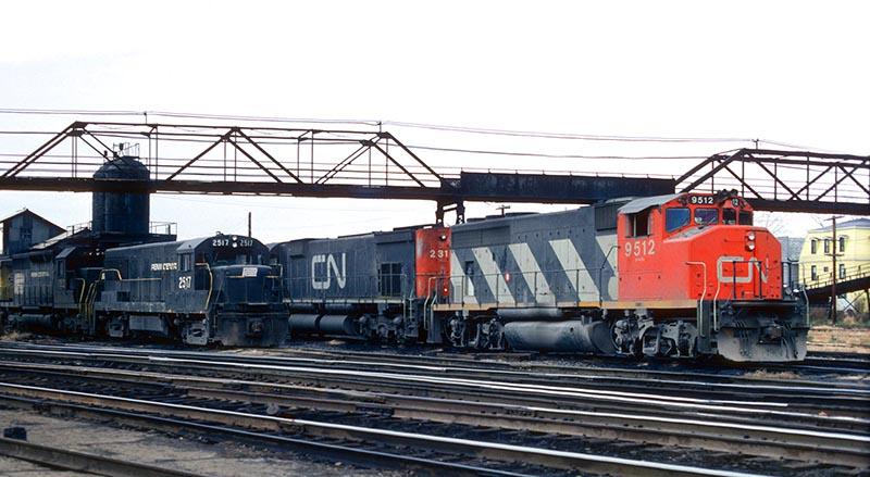 Canadian National GP40
