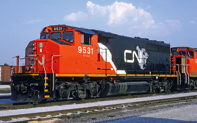 Prototype Profile: Canadian National GMD GP40-2L