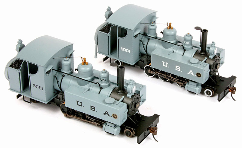 Bachmann Spectrum On30 2-6-2T Class 10 Trench Engine
