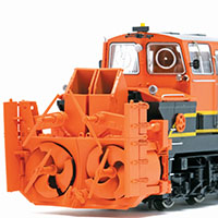 Roco's Beilhack Snow Blower in HO scale