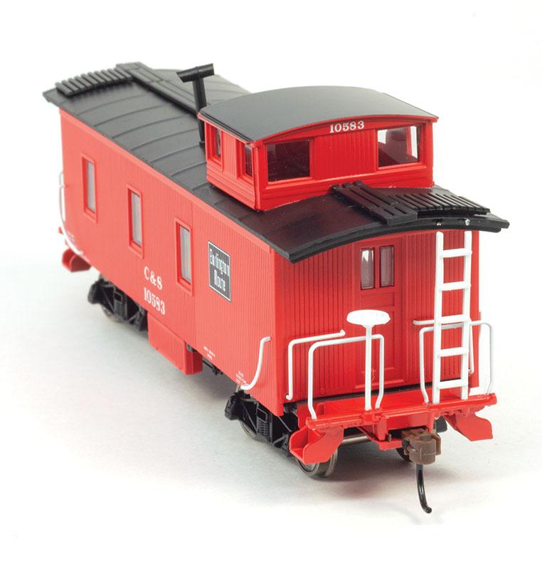 Colorado Model Railroad Museum's Caboose in HO scale