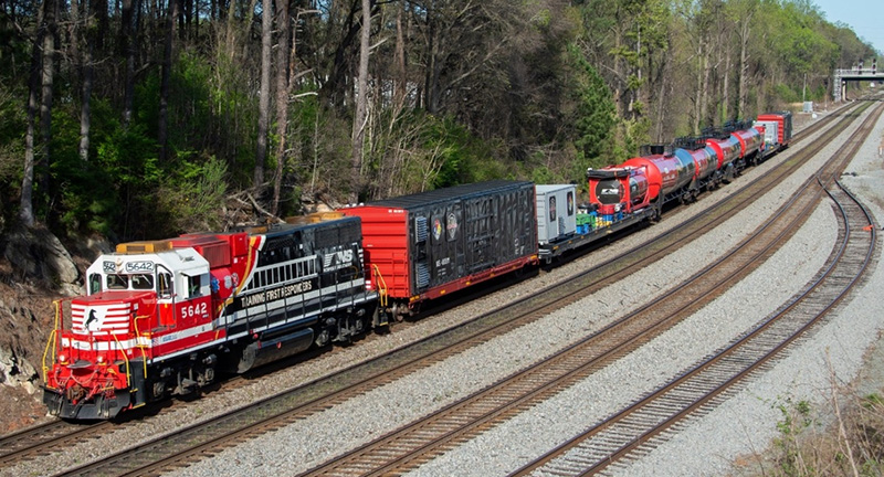 Special Norfolk Southern containers from Jacksonville Terminal Company