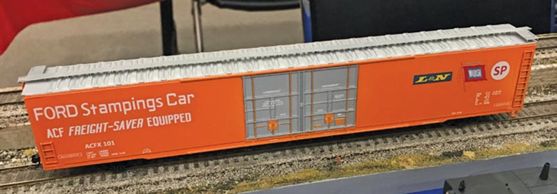High-Cube Boxcars