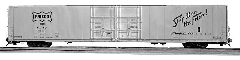 High-Cube Boxcar