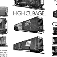 86-foot High-Cube Boxcars