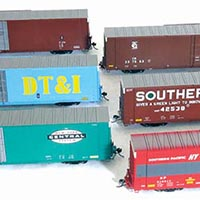 Biggest Ever: 89-Foot High-Cube Boxcar from Tangent Scale Models