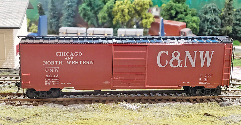 C&NWHS special run HO boxcar