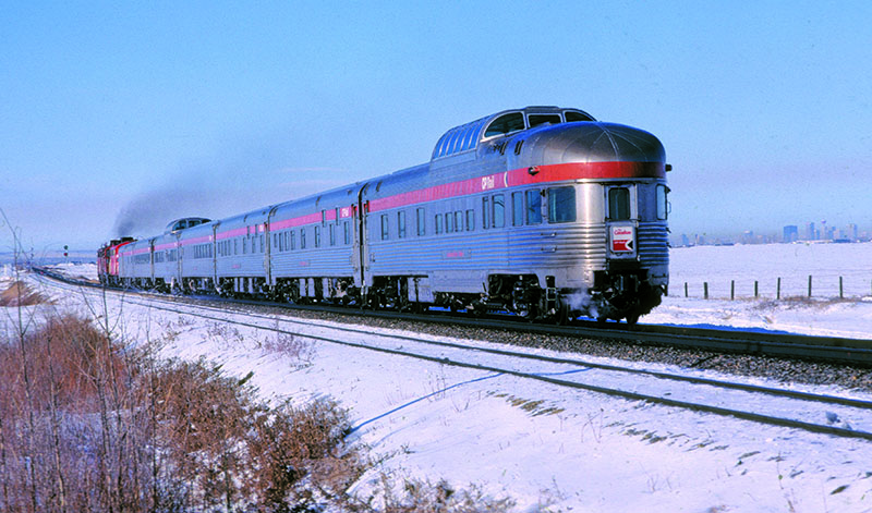 """""""The Canadian"""" in N scale from Rapido Trains"""