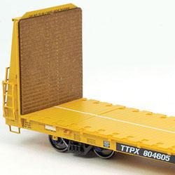 ExactRail TrentonWorks Bulkhead Flatcar